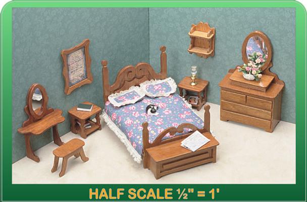 Half Scale Laser Cut Bedroom Furniture Kit