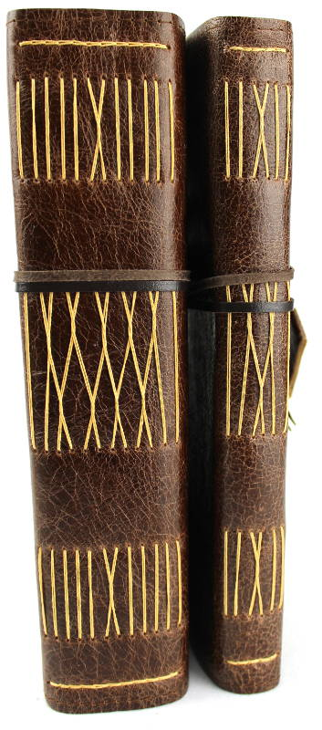 Majestic and Regular leather journals