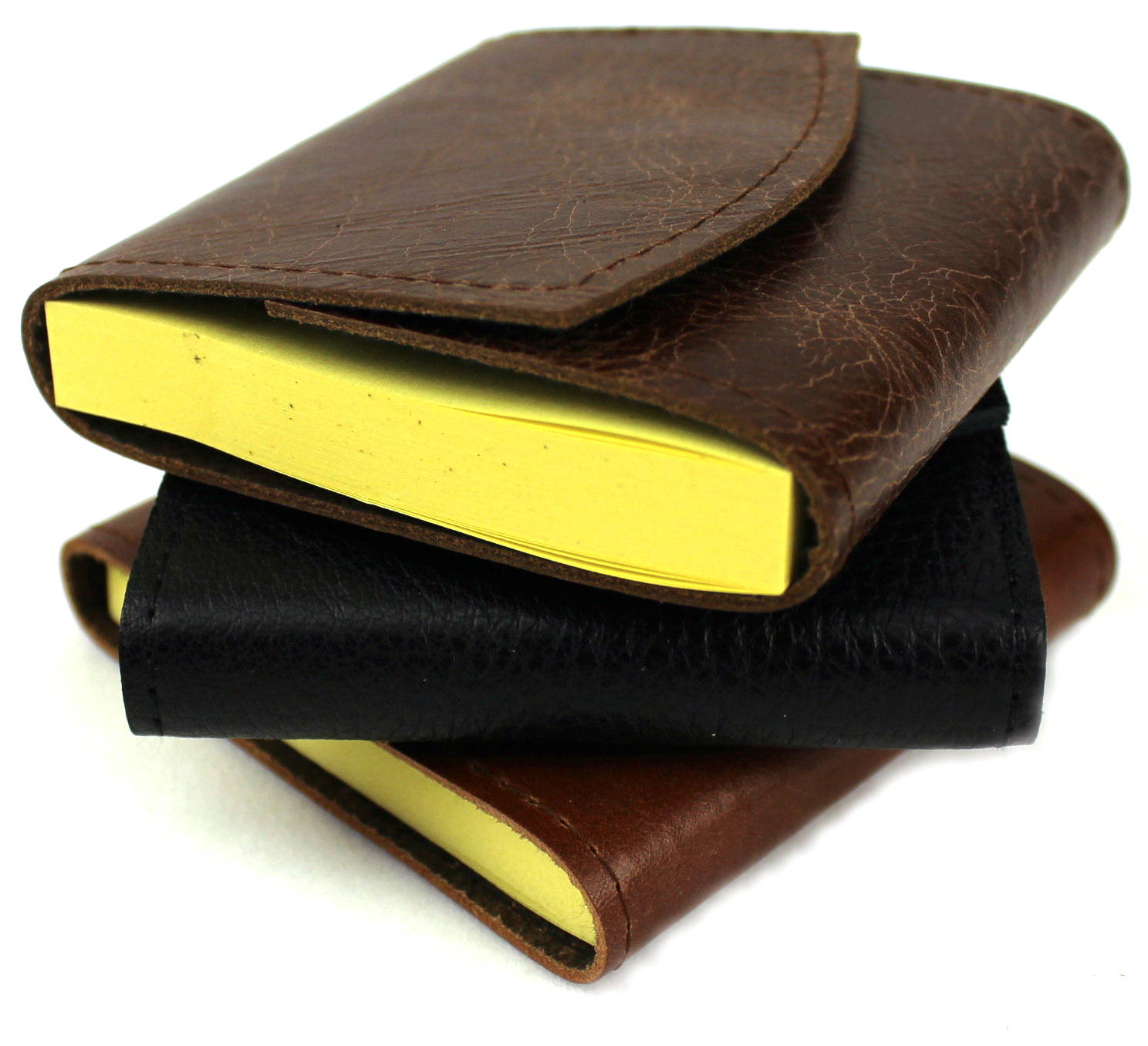 Leather Sticky Note Covers