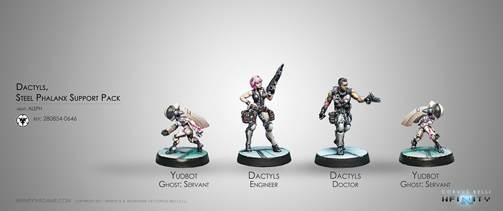 DACTYLS, STEEL PHALANX SUPPORT PACK