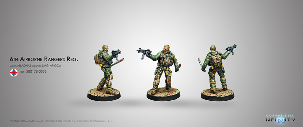 6th Airborne Ranger Reg. (Sub Machinegun)