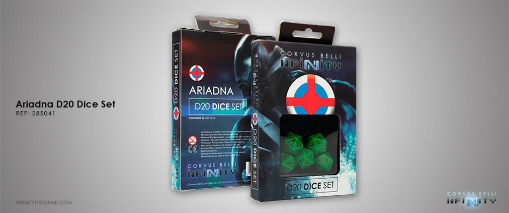 Ariadna D20 Dice Set