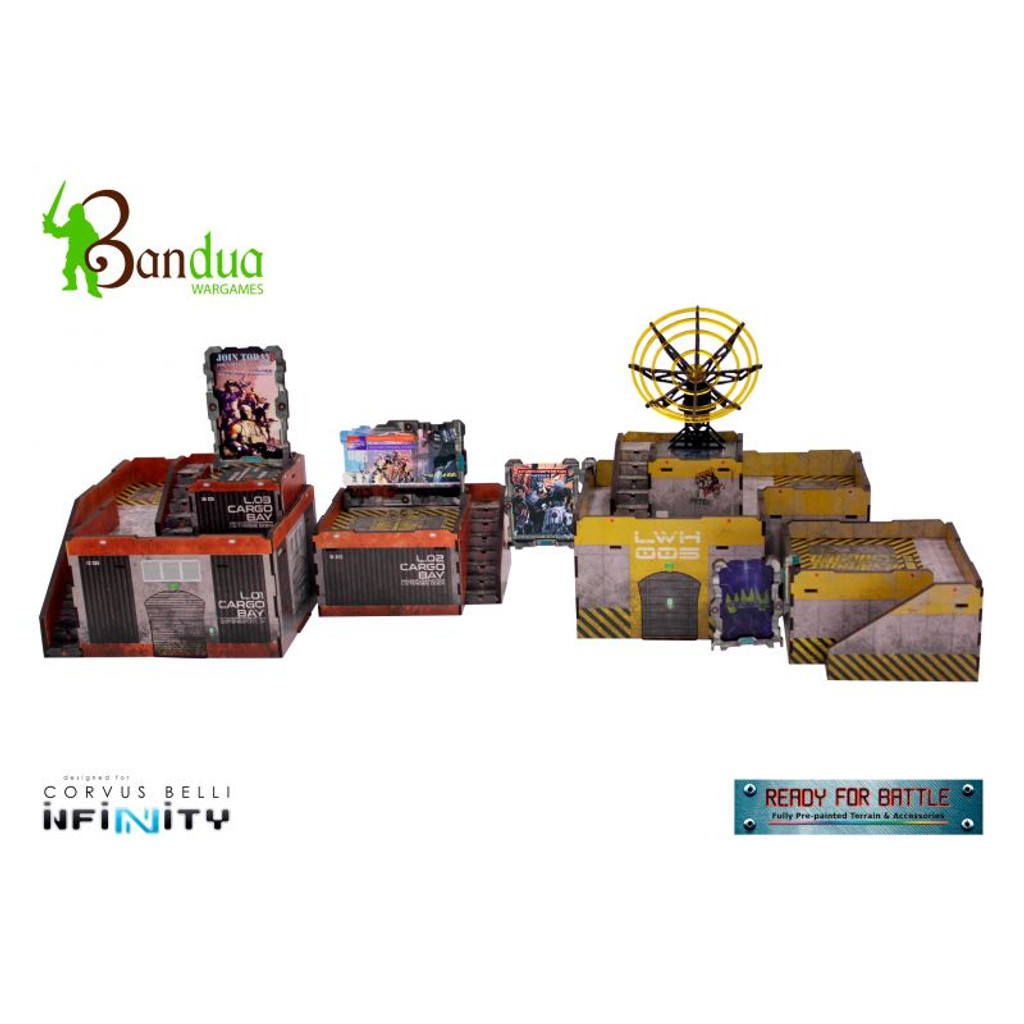 Bandua - Cargo Bay Station Bundle