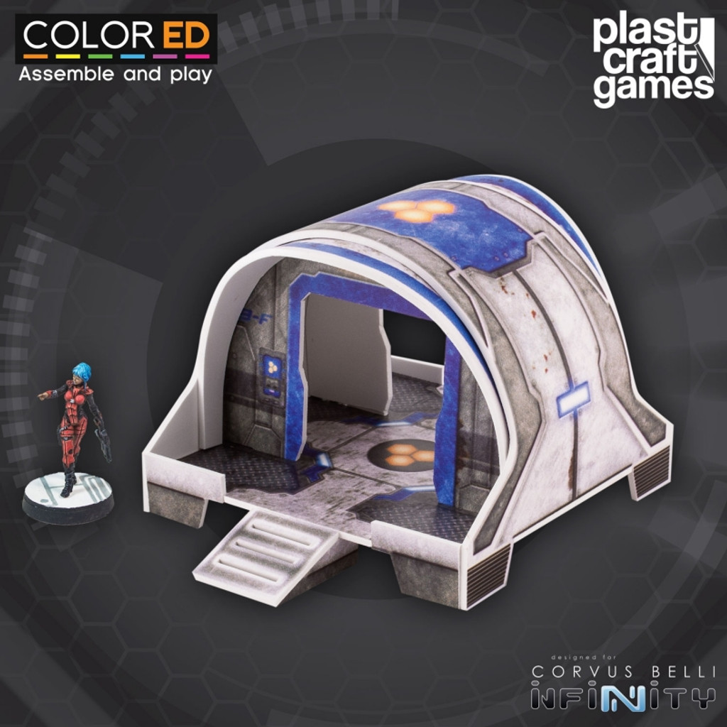 Plast Craft ColorEd Curved Modular Building