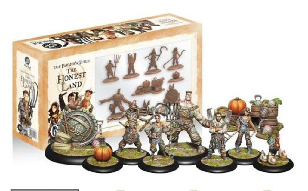 Guild Ball The Farmers Guild The Honest Land