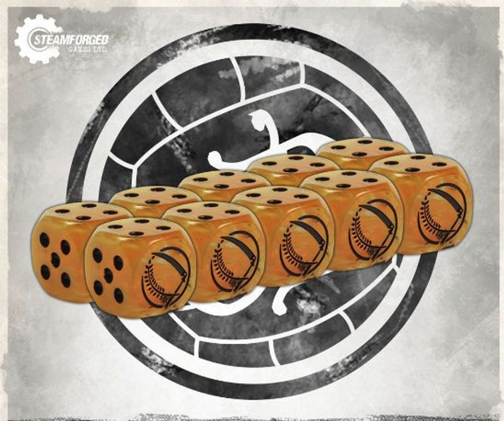 Guild Ball The Farmers Guild Dice Pack