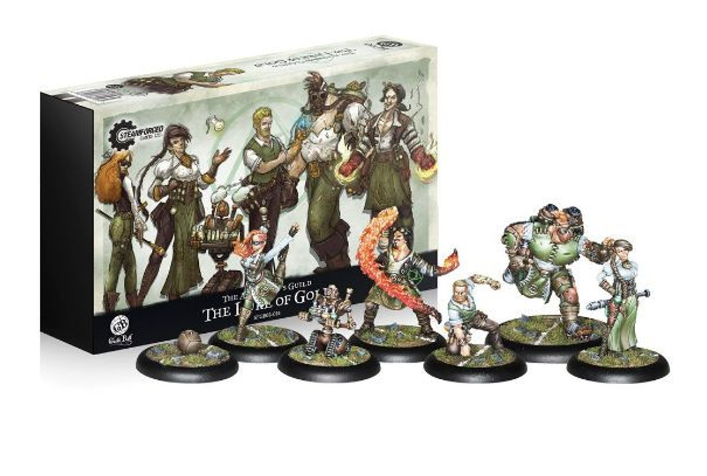 Guild Ball The Alchemists Guild The Lure of Gold