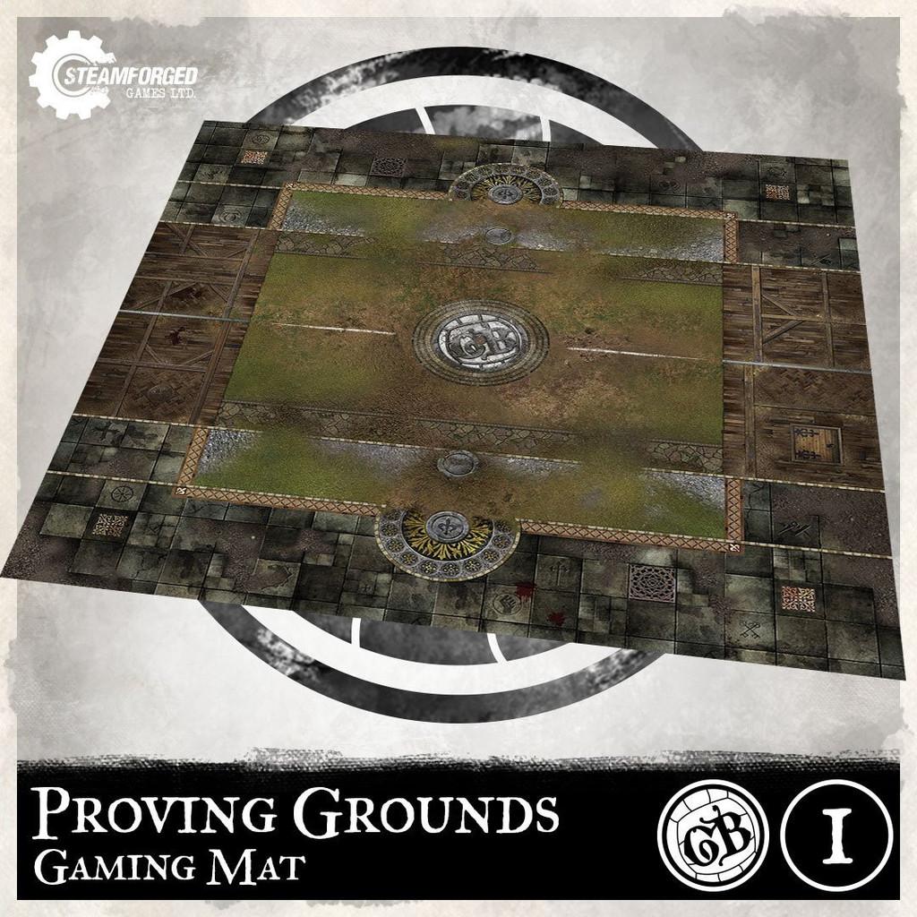 Guild Ball Guild Ball Play Mat Proving Grounds