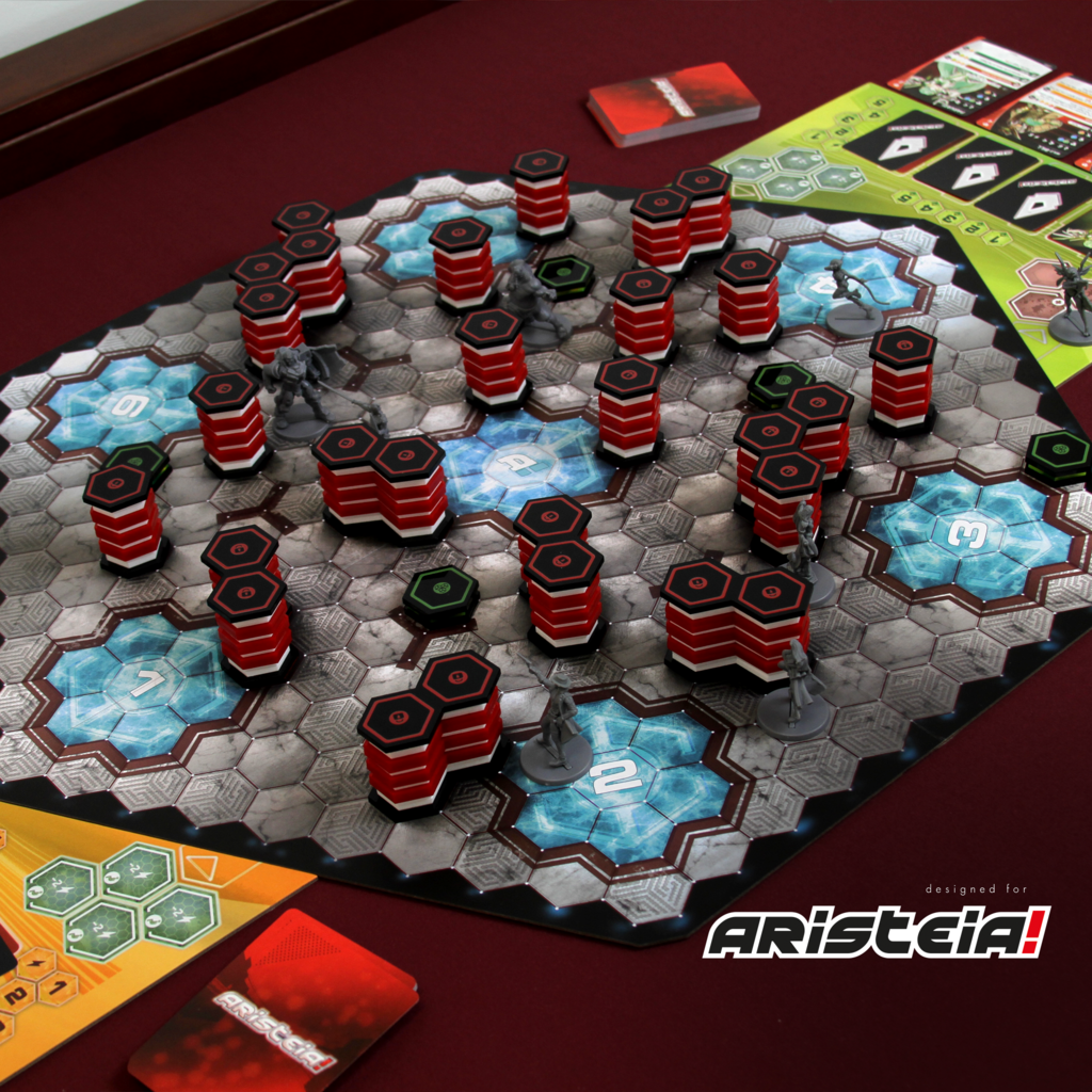 ARISTEIA! PREMIUM FULL COLOR WALLS AND OBSTACLES