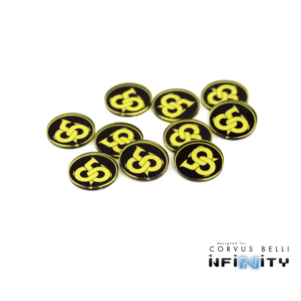 Full Color Faction Markers (10)