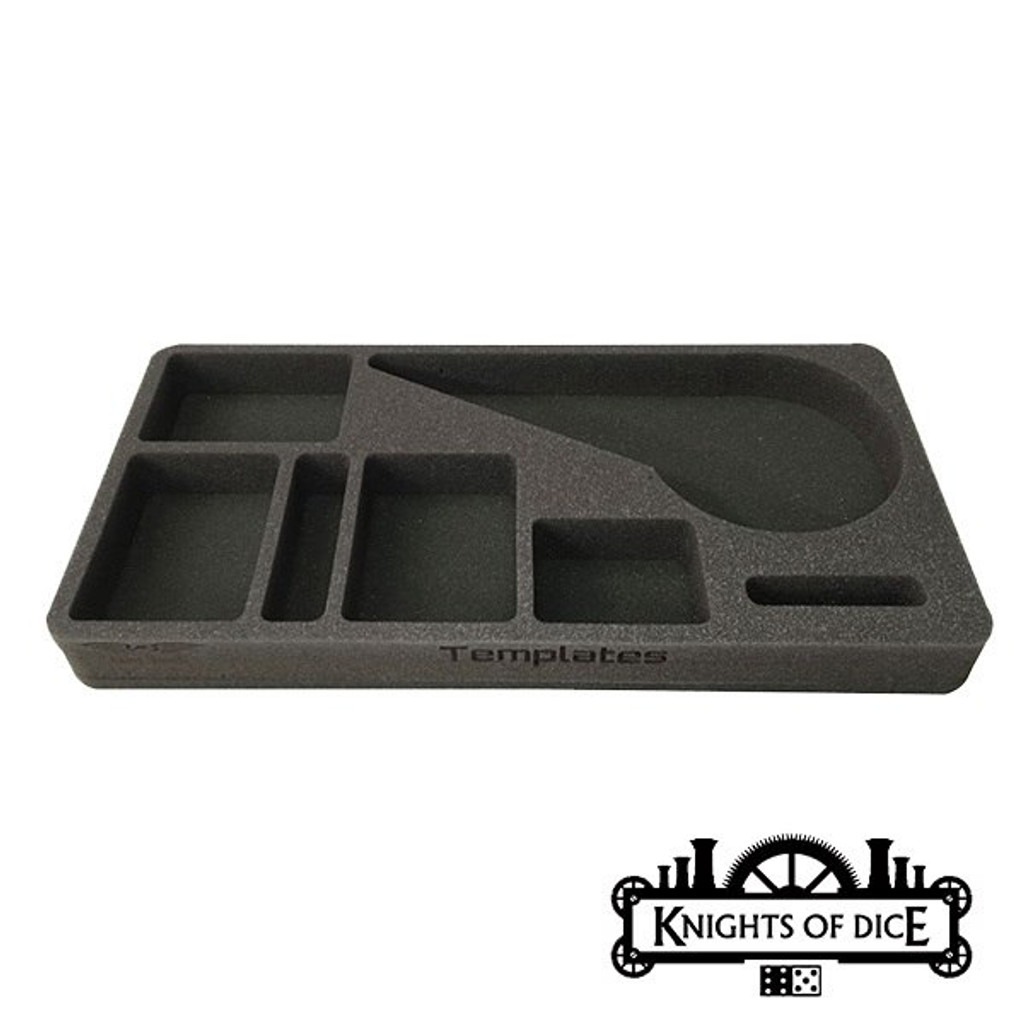 Knights of Dice Strike Case - Infinity Mass Infantry Package