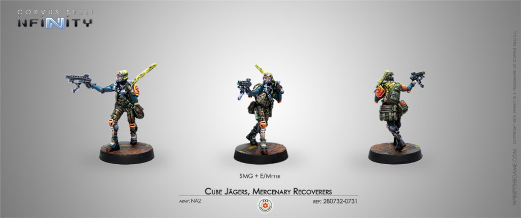 CUBE JAGERS, MERCENARY RECOVERERS (SMG)