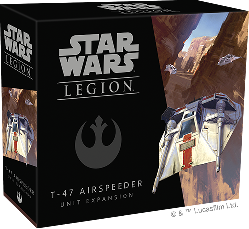 Star Wars Legion T-47 Airspeeder Rebel Expansion