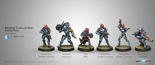 Neoterran Capitaline Army Starter Pack