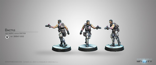 Dactyls, Steel Phalanx Support Corps (Doctor)