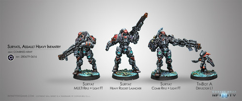 Suryats, Assault Heavy Infantry