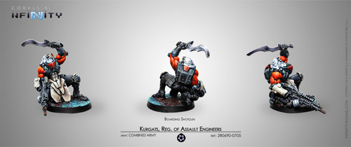 Kurgat, Reg. of Assault Engineers (Boarding Shotgun)