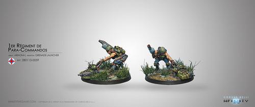 Para-Commandos 1 (Rifle, Light GL)