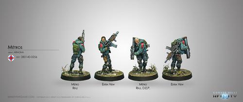 Metros (Rifle, D.E.P.)
