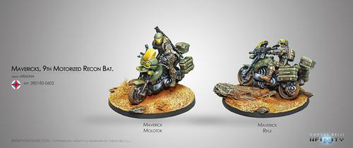 Mavericks, 9th Motorized Recon Battalion