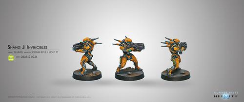 Shang Ji Invincible (Combi Rifle+Light Flamethrower)