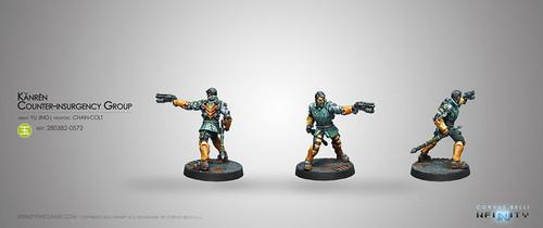 Kanren Counter-insurgency Group (Boarding Shotgun, Chain-Colt)