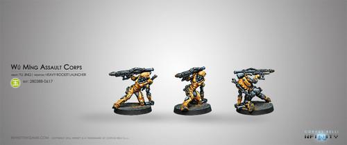 Wu Ming Assault Corps (Heavy RL)