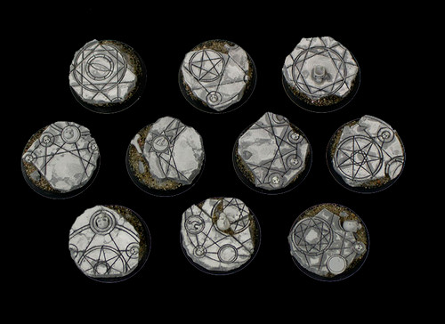 Shattered Ritual - Resin Bases by Secret Weapon