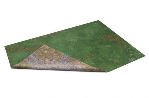 GameMat War Game Mat - Double Sided: Highlands in war & Forgotten Realm