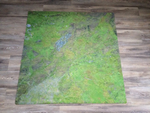 Urbanmatz War Game Mat - 48x48inch - Grassland