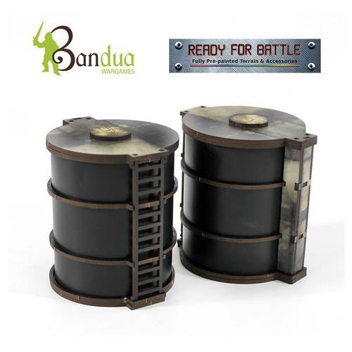 Bandua - Industry Of Murder Oil Tanks