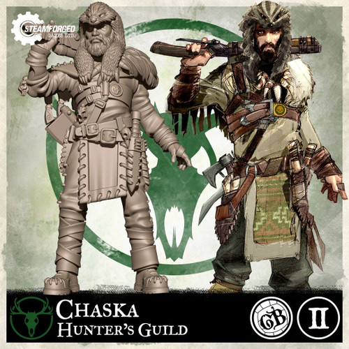 Guild Ball The Hunters Guild Chaska