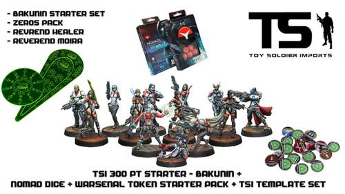TSI 300pt Starter - Jurisdictional Command of Bakunin with Infinity Essentials