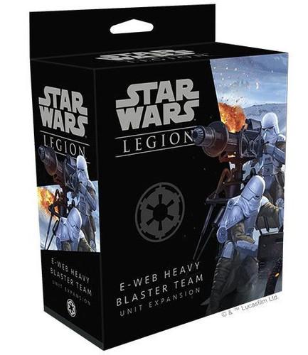 (PREORDER) Star Wars Legion E-Web Heavy Blaster Team Unit Expansion (OCT)