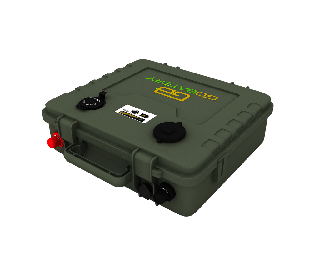 Lithium Ion 12v 200Ah Military Battery