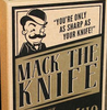 """""""Ace of Spades - Mack the Knife"""" - Pocket Knife With Tools"""