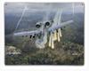 """""""A-10 THUNDERBOLT II""""  METAL  SIGN"""