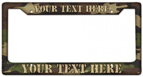 CAMOUFLAGE FRAME--- PERSONALIZED  FOR  YOU