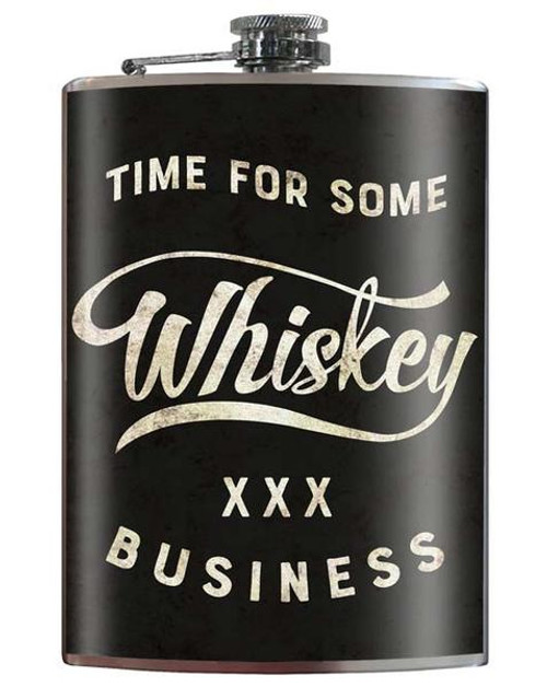"""'WHISKEY  BUSINESS""""  FLASK"""
