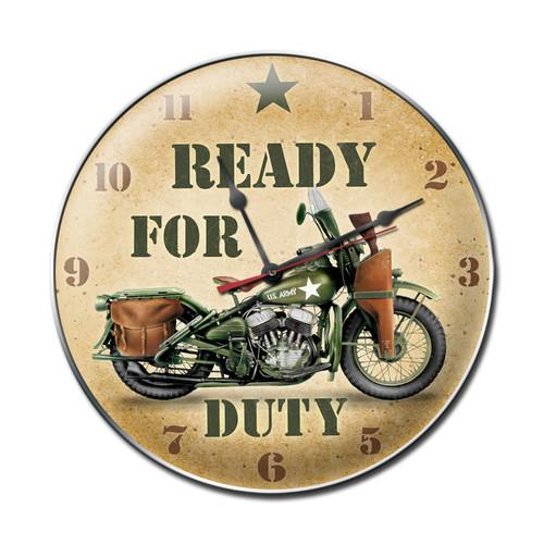 READY  FOR  DUTY  CLOCK