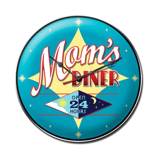 """MOM'S  DINER""  CLOCK"