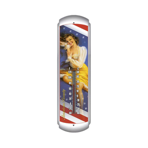 """""""AMERICAN BEAUTY""""  THERMOMETER"""