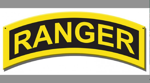 """""""ARMY RANGER INSIGNIA""""   METAL  SIGN"""