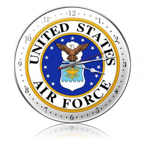 U.S. Air Force Clock