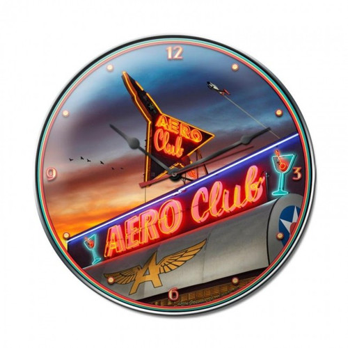 """AIR  FORCE  CLUB""  CLOCK"