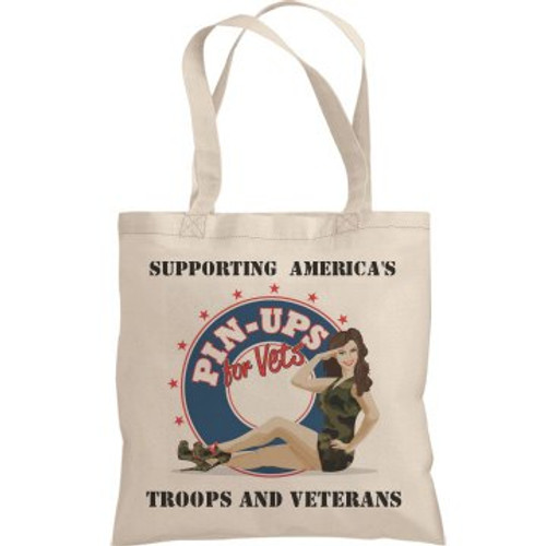 FRONT OF THE CANVAS TOTE BAG