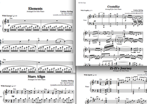 Lindsey Stirling Signature Album - Piano Sheet Music Package