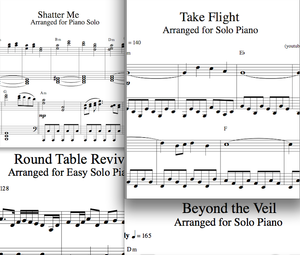 Lindsey Stirling Shatter Me Sheet Music