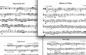Cello Shatter Me Album - Sheet Music Package