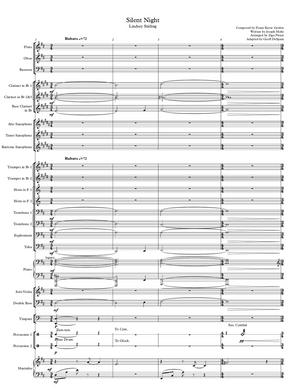 BAND - Silent Night - Sheet Music